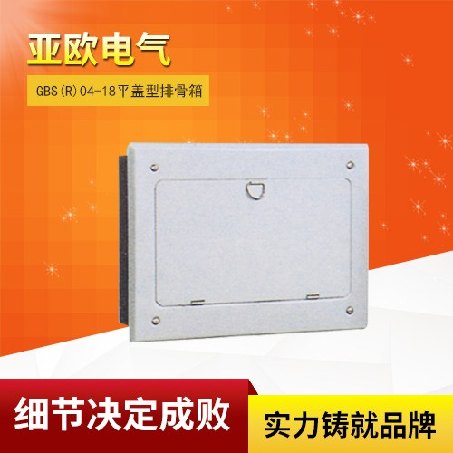 GBDS(R)204-220 flat cover type distribution box